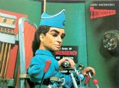Thunderbirds - 'Scott Tracy at the Controls of Thunderbird One' Postcard